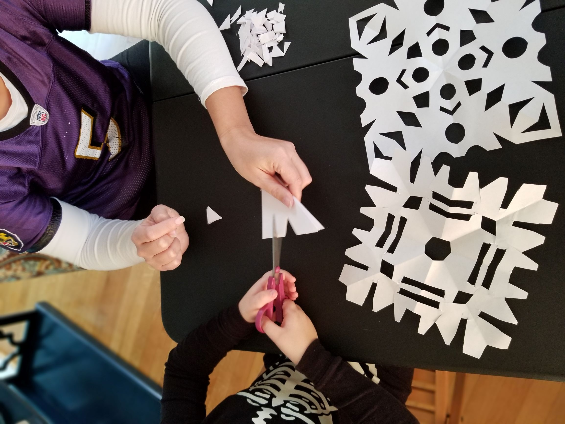 Snowflake Craft Just in Time for the Holidays