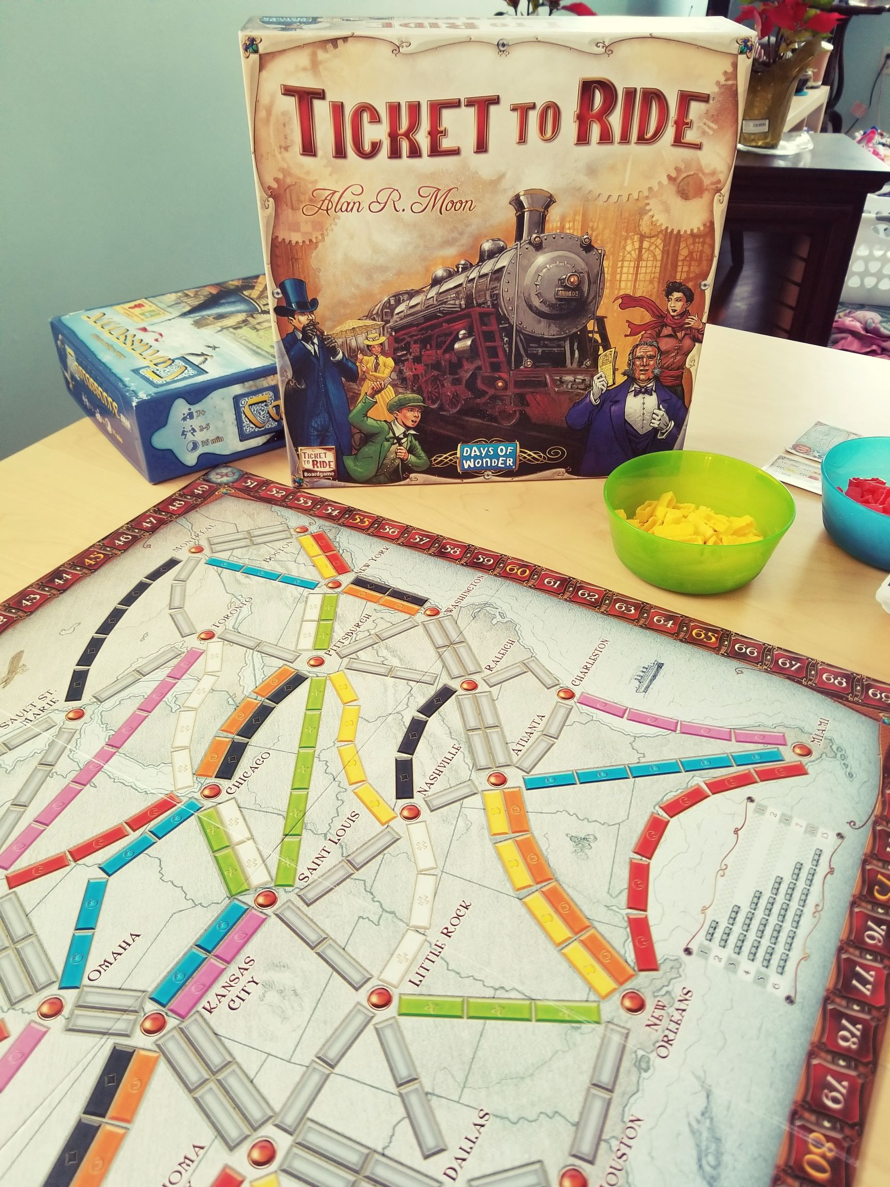 Ticket to Ride: A Date Night Win