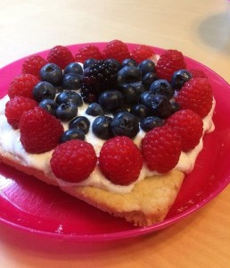 Cooking with Kids: Fruit Pizza
