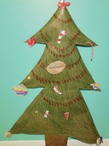 Christmas Tree Activity for Kids