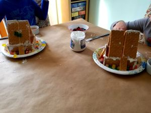 Gingerbread Houses and the Date That Inspired Them