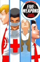 Five Weapons: TylersRevenge: Enrique returns to the School of Five Weapons, but things have changed. The Nurse has been poisoned. The teachers hate him. There's a new principal in charge, and the real Tyler Shainline is in school. Enrique will have to use his sharp mind to unravel these mysteries and come out on top.