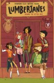 Lumberjanes Vol. 1 -- Best friends Jo, April, Mal, Molly, and Ripley spend a fun summer at Lumberjane scout camp where they encounter yetis, three-eyed wolves, and giant falcons while solving a mystery that holds the fate of the world in the balance. Volume 2 is also available now!