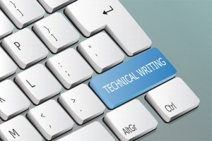 Keyboard Button that Says Technical Writing