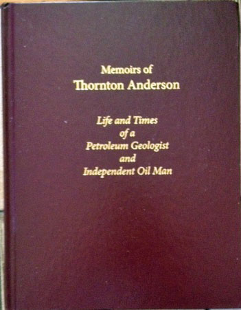 Memoirs of Thornton Anderson