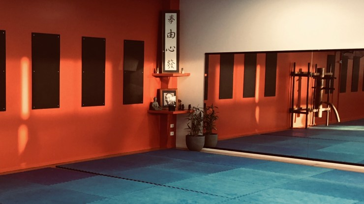 Kung fu studio training hall Brendale Qld