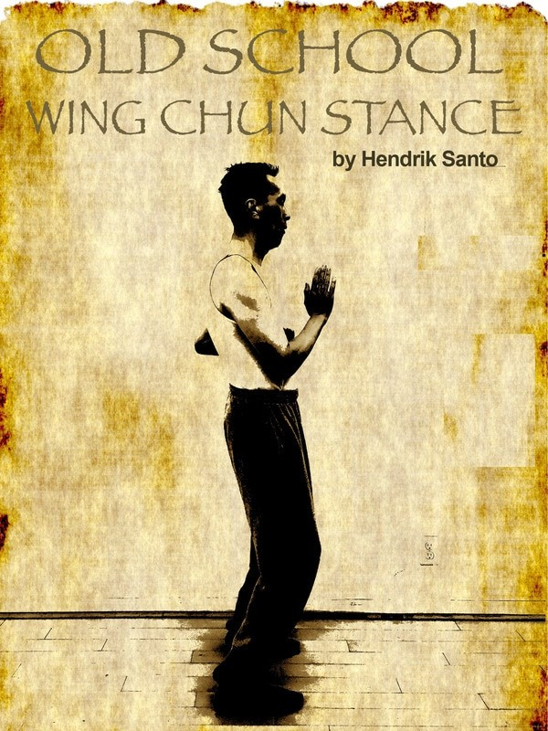 Hendrik Santo Wing Chun stance