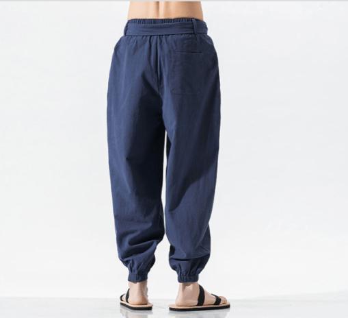 Wing Chun Pants Blue
