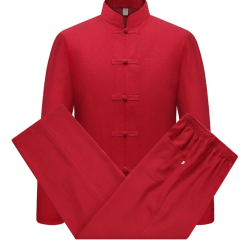 Kung Fu Uniform Red