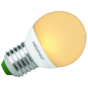 MEGA LED P45 3,5/25W E27 DIM
