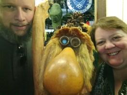 A long lost cousin we ran into at Ober Gatlinburg