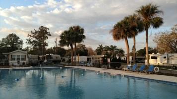 North Pool at Winter Garden RV Resort
