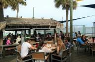 Grills Seafood and Tiki Bar at Port Canaveral, Florida