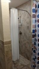 Men's shower at the E loop, Orlando RV Resort, February 2018