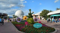 Figment at the Flower and Garden Festival of Epcot Center