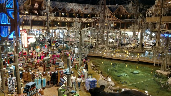 Bass Pro Shops at the Pyramid Sales Floor