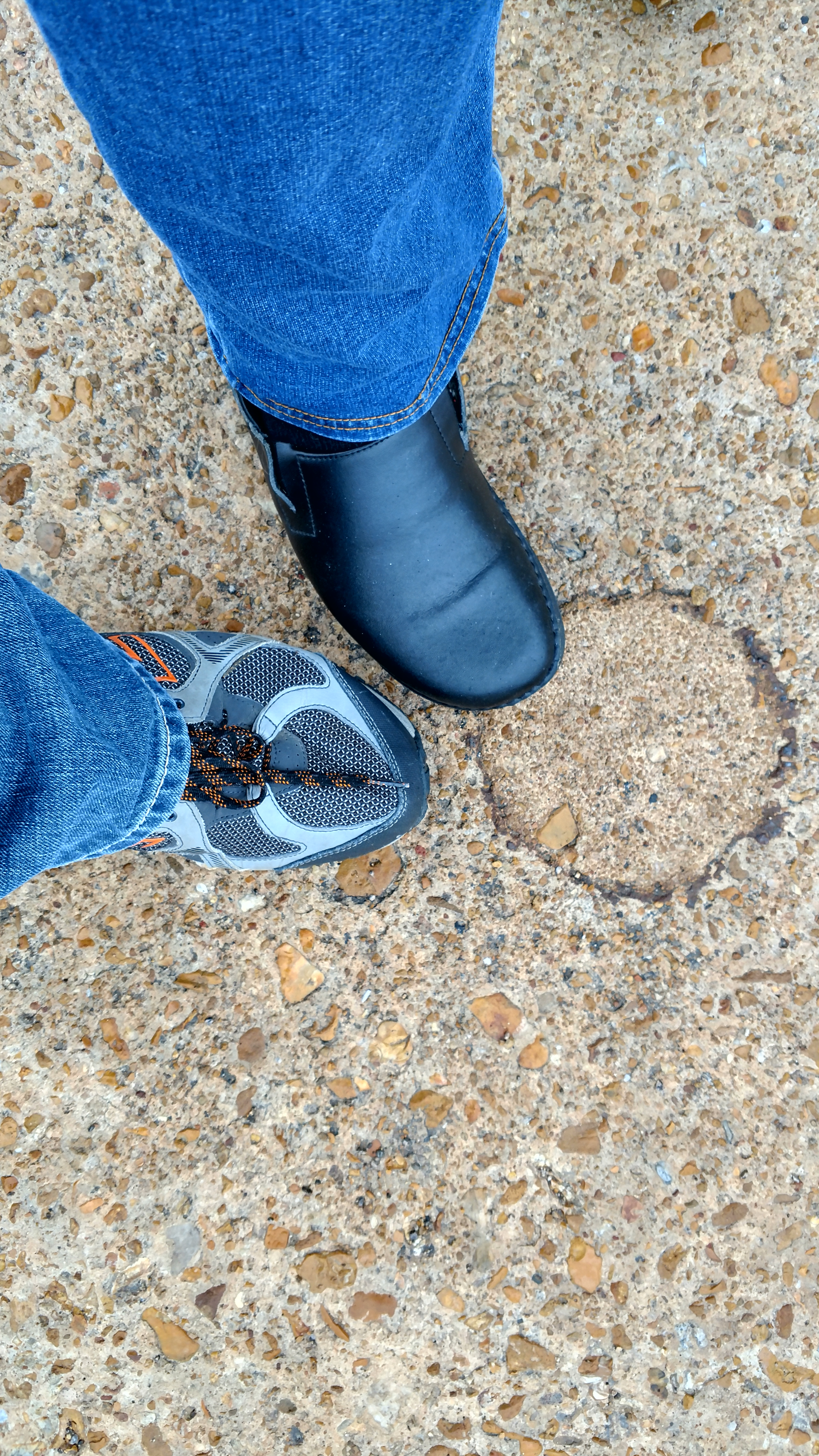 Standing on Historic Route 66