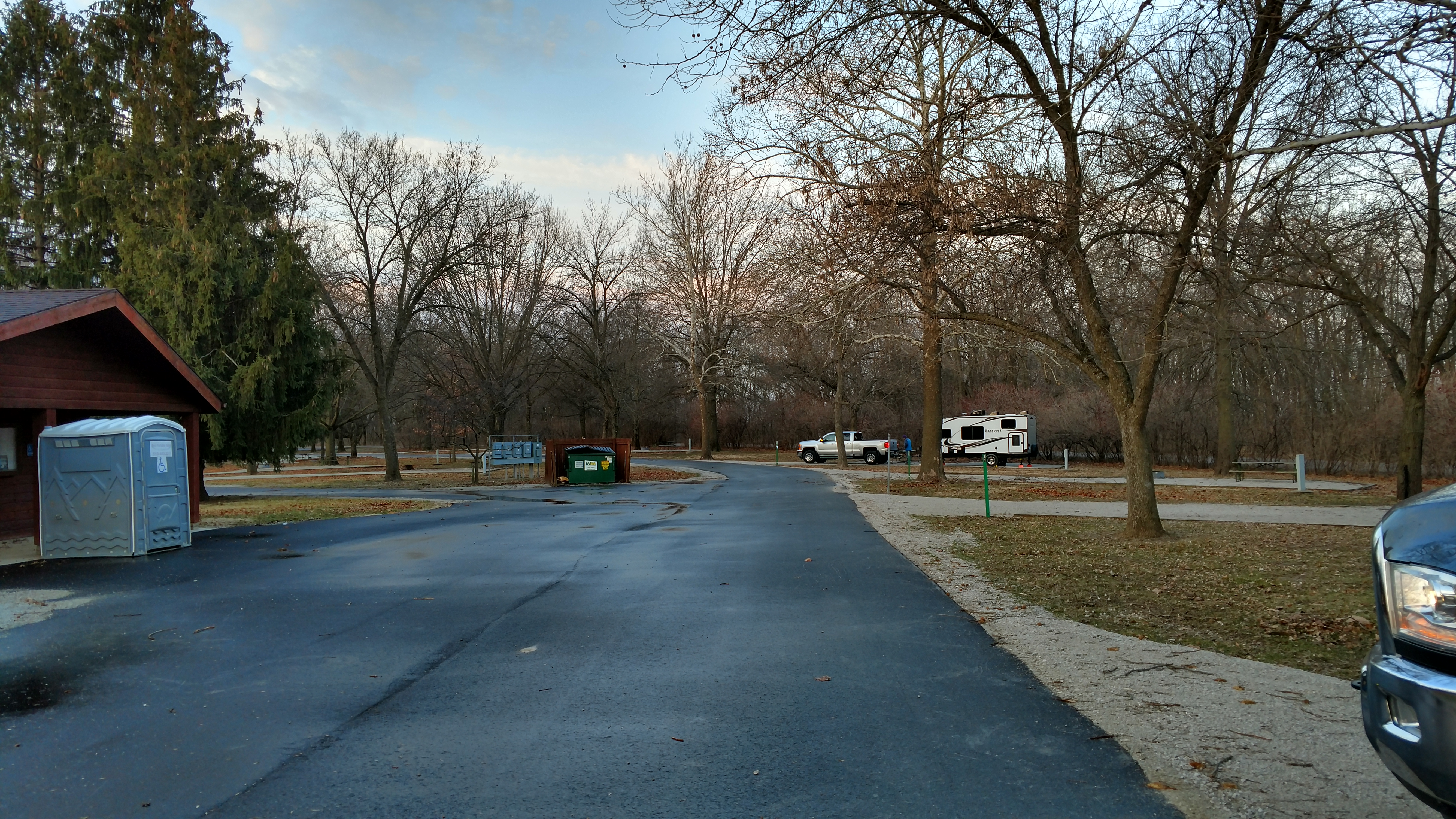 Main loop at Yellow Banks Campground 1, Des Moines, IA