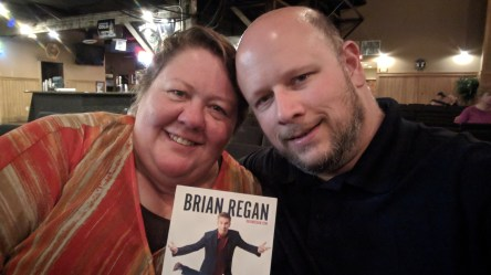 We really enjoyed the Brian Regan comedy performance at the Deadwood Mountain Grand Casino