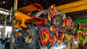 Airplane float at Mardi Gras World, Port of New Orleans Place, New Orleans, LA
