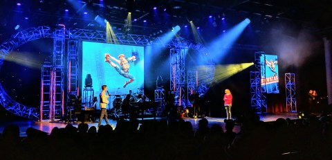 Broadway Concert Series at Epcot center during 2019 Festival of the Arts with Kerry Butler and Kevin Massey