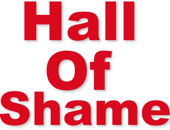 Hall of shame logo
