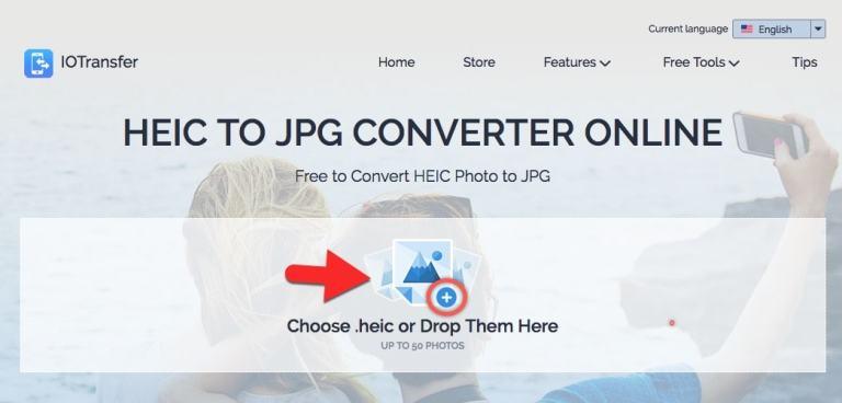 تحويل heic الى jpg