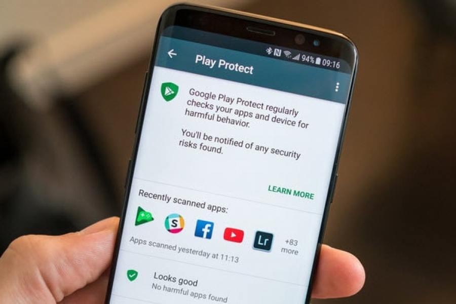 ميزة Play Protect : فحص الاندرويد من الفيروسات والتطبيقات الضارة بدون برامج
