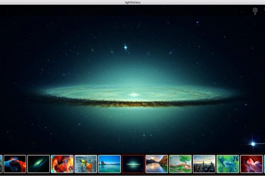 برنامج مميز مستعرض الصور لويندوز 10 مجاني LightGallery