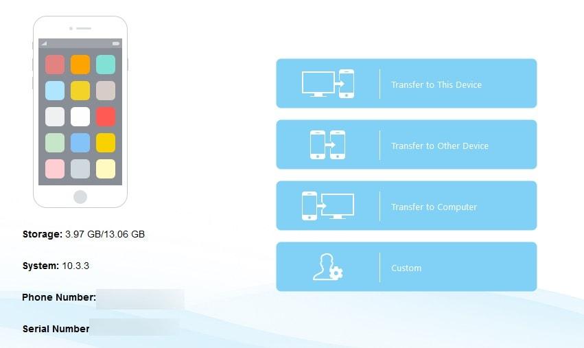برنامج Mobimover لنقل الملفات من الآيفون للكمبيوتر والعكس