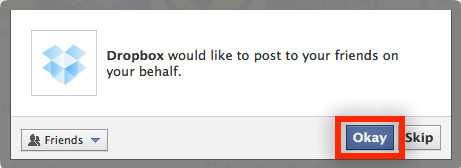 share dropbox files on facebook-13