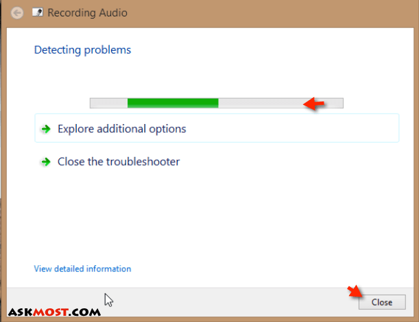 تسجيل الصوت في ويندوز ٨-٣