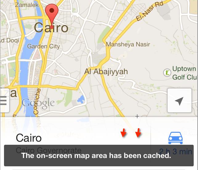 خرائط جوجل بدون انترنت-33