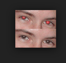 Remove Red Eye on iPhone