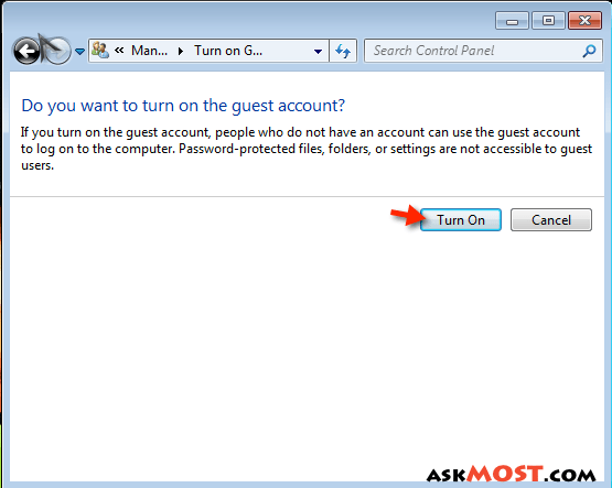 حساب guest-٤