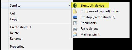 تشغيل البلوتوث في ويندوز 7 -0