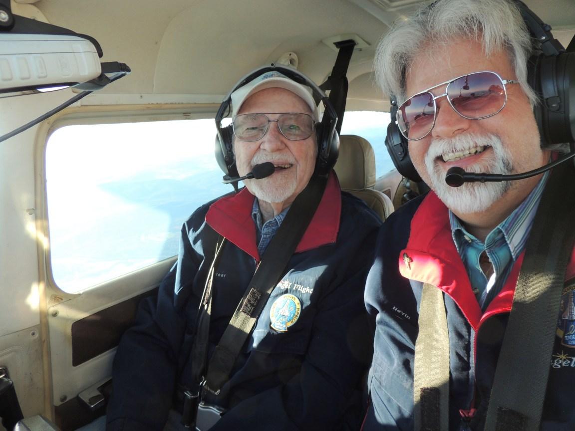 Happy Crew of Angel Flight 2134