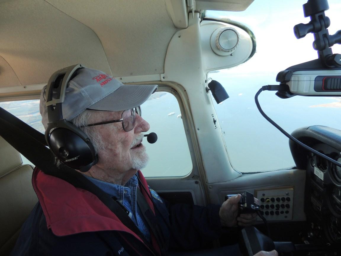 Captain John on approach to Newport News