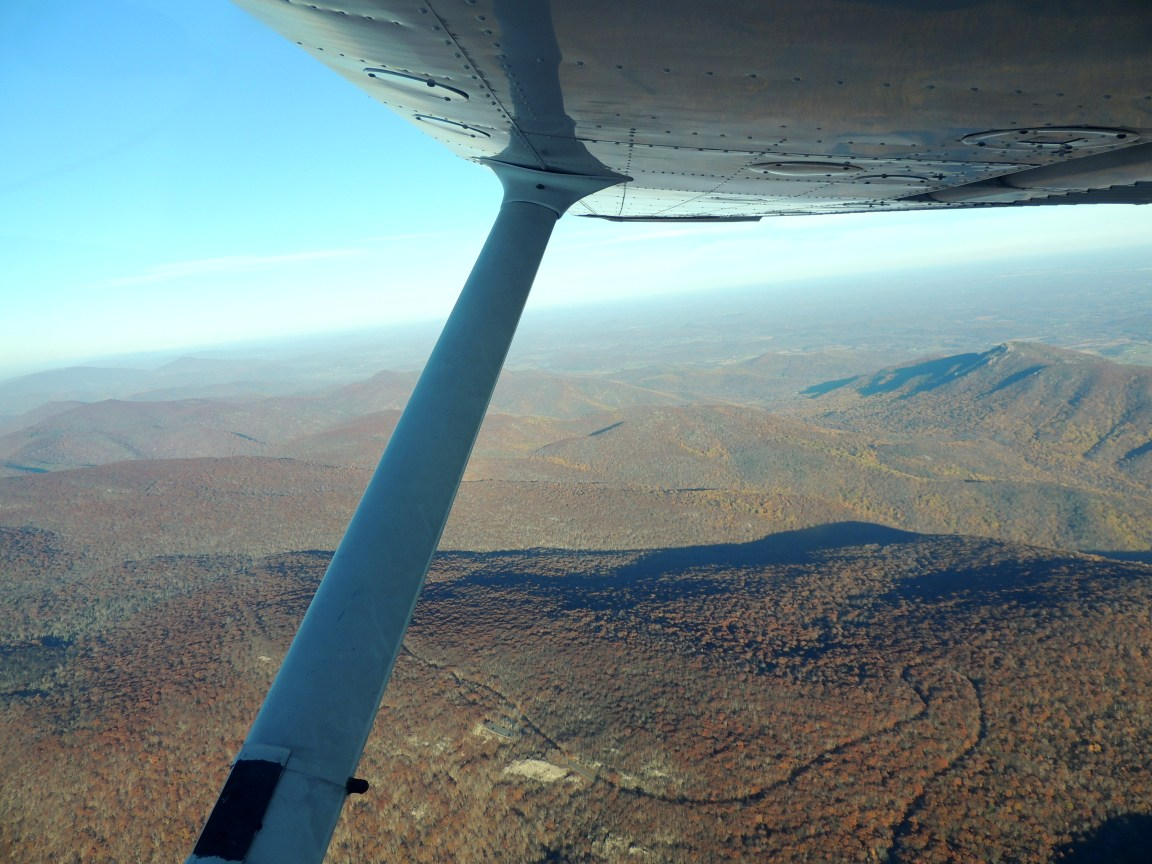 Crossing the Blue Ridge Mountains (Over Skyline Drive)