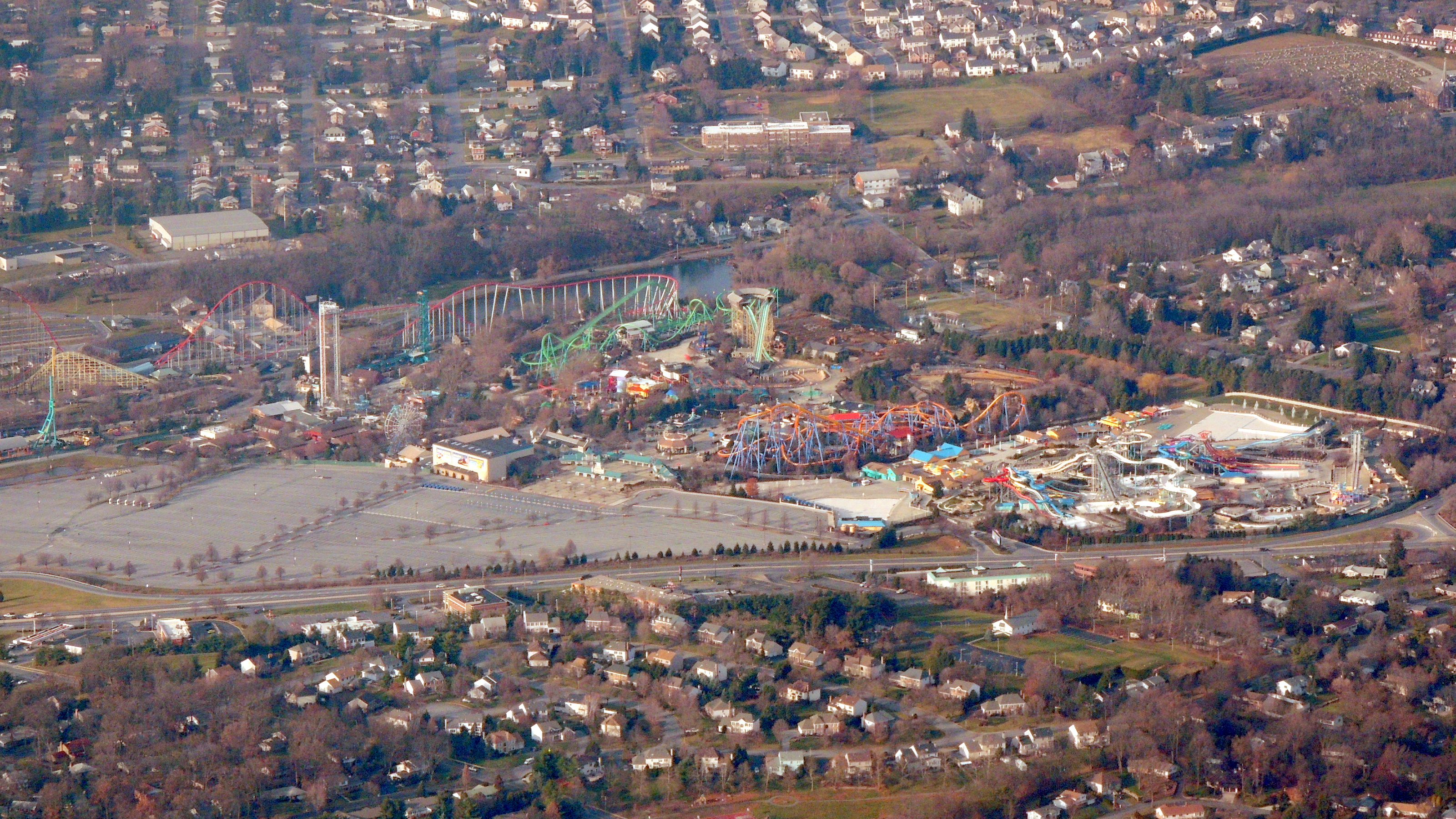 Dorney Park and Wildwater Kingdom in Allentown PA