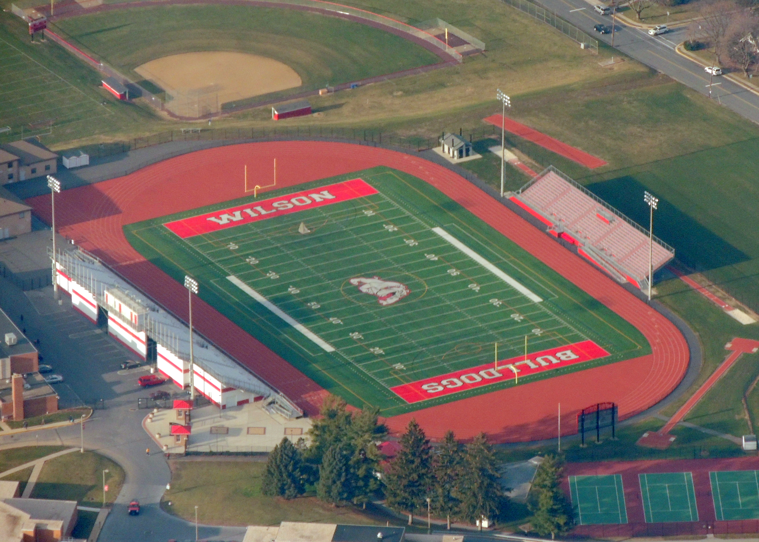 Wilson High School (Wilson Bulldogs) West Lawn PA