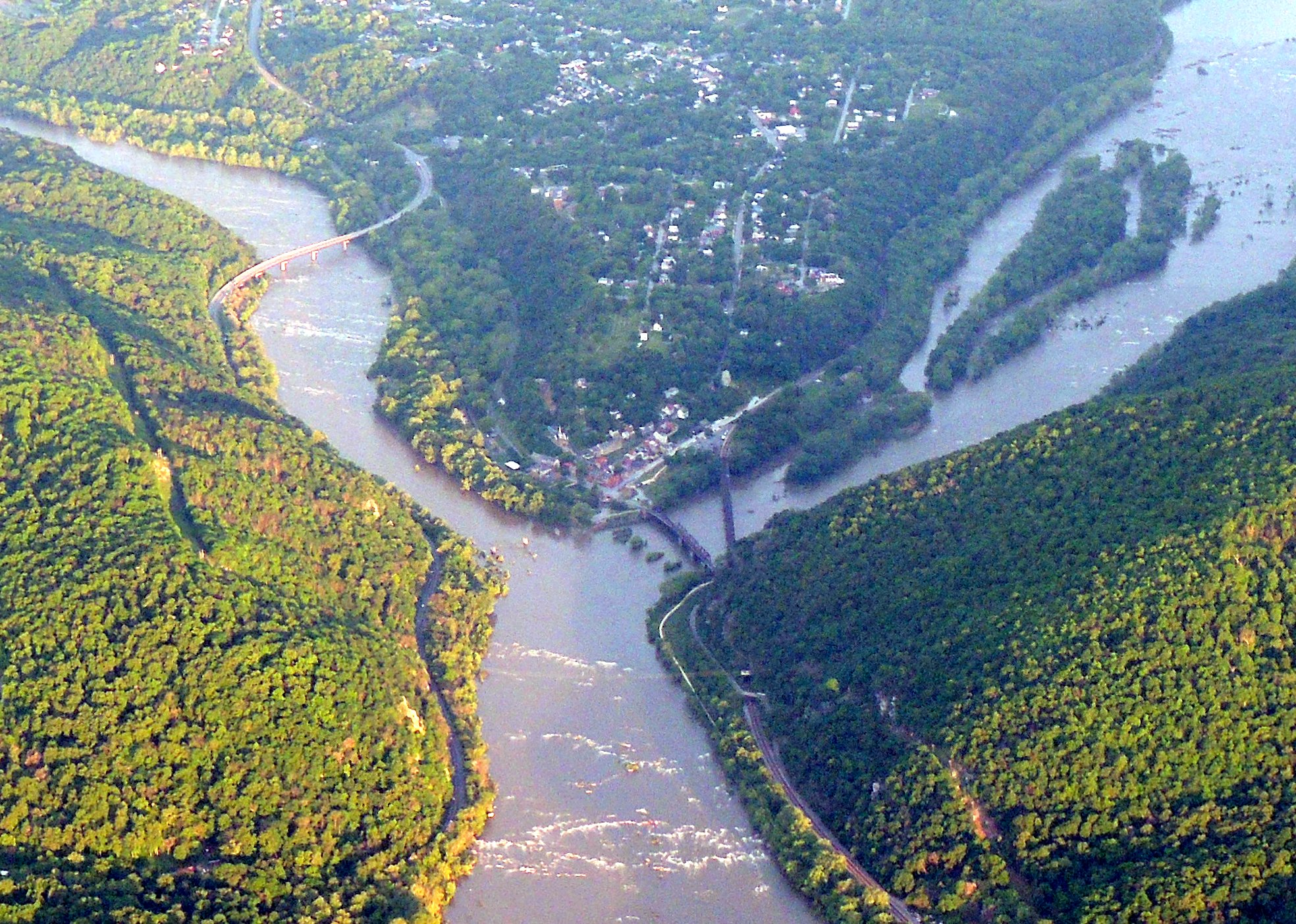 Early morning at Harpers Ferry WVA