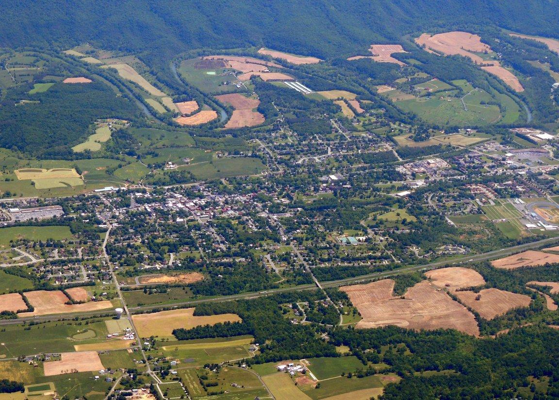 Woodstock Virginia (This is where Captain John hangs his hat)