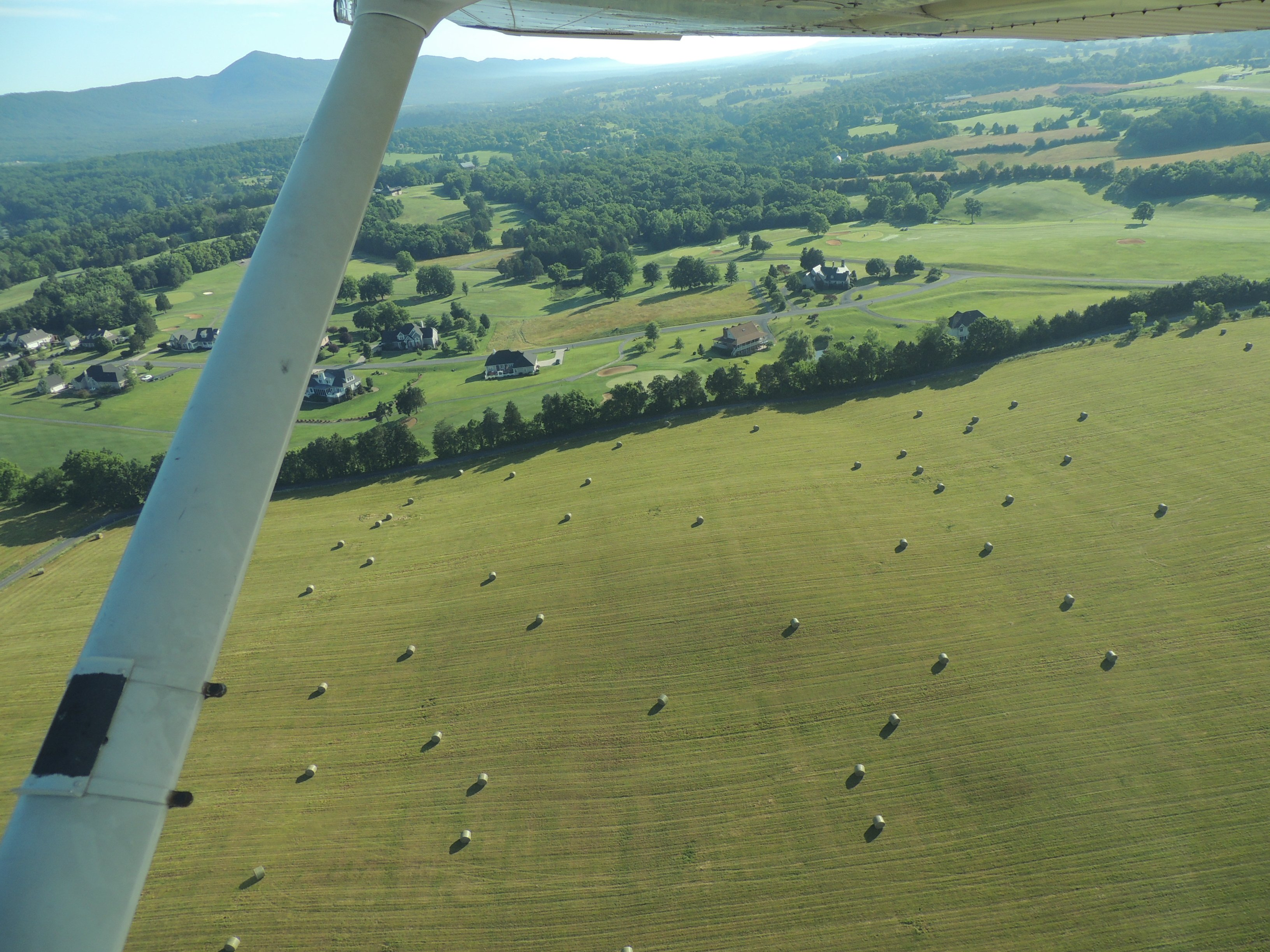Sunday morning departure from home base Luray