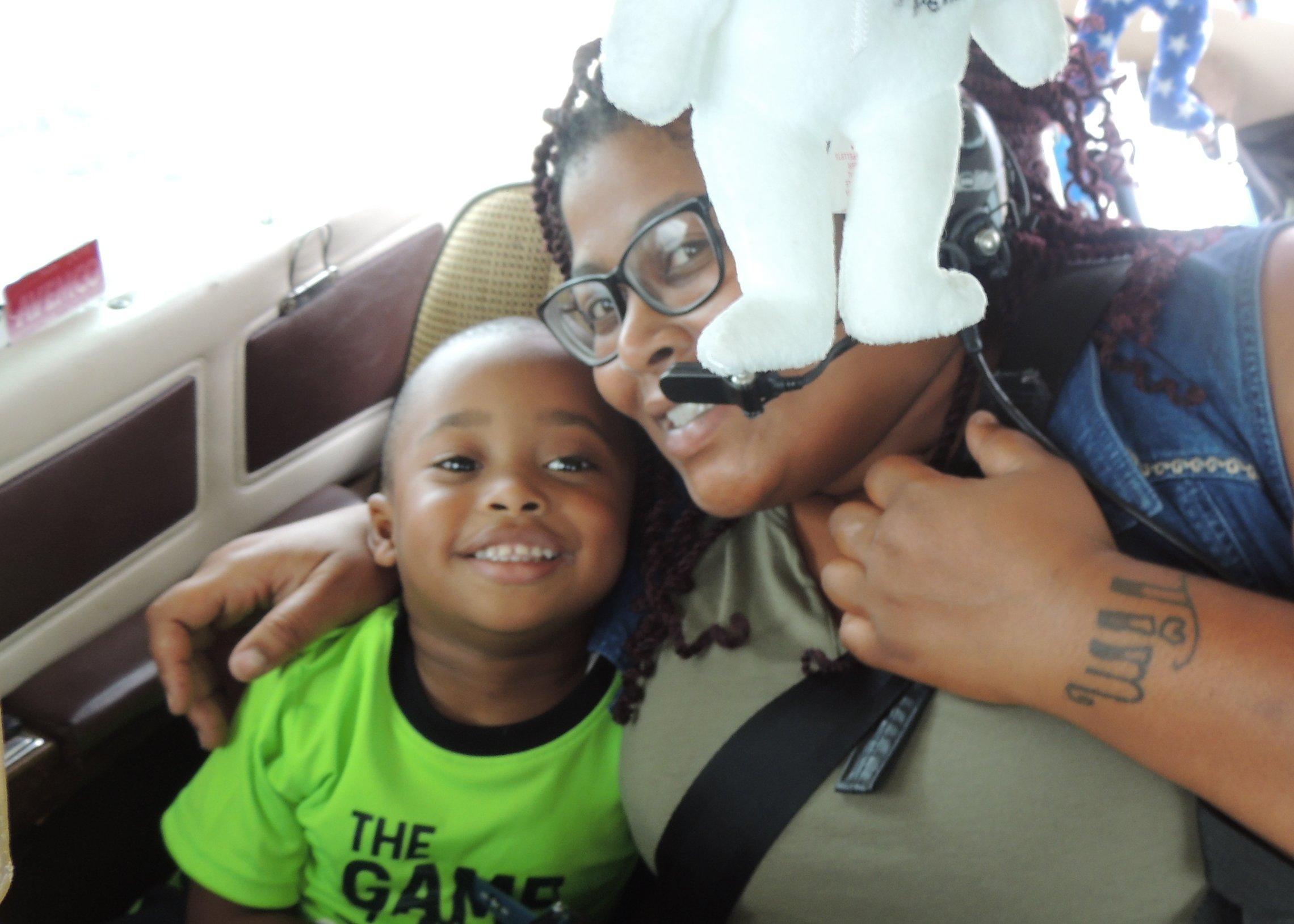 Daniel and his Mom Monchea