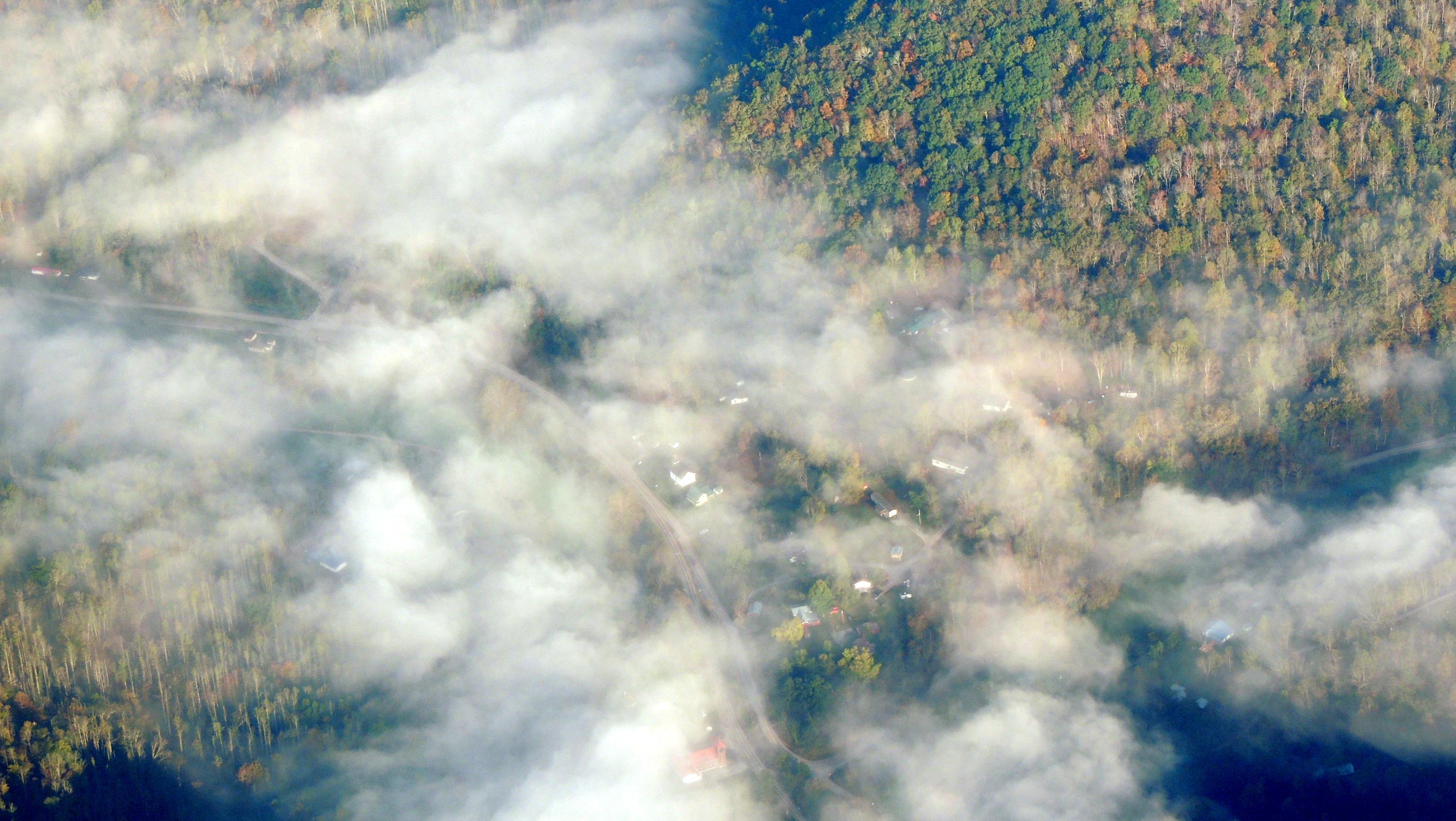 Sleepy little valley in West Virginia