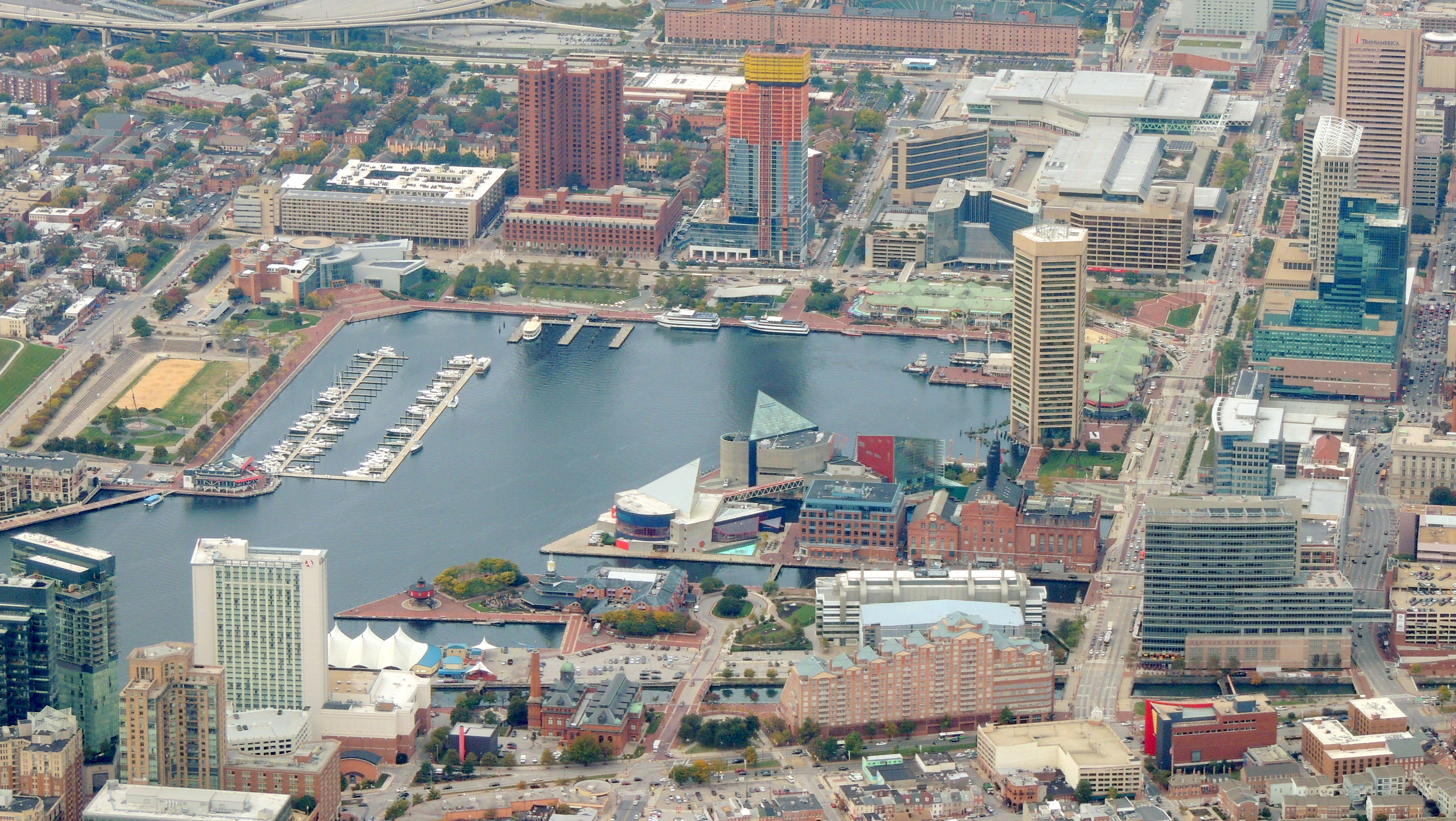 Inner Harbor Baltimore MD