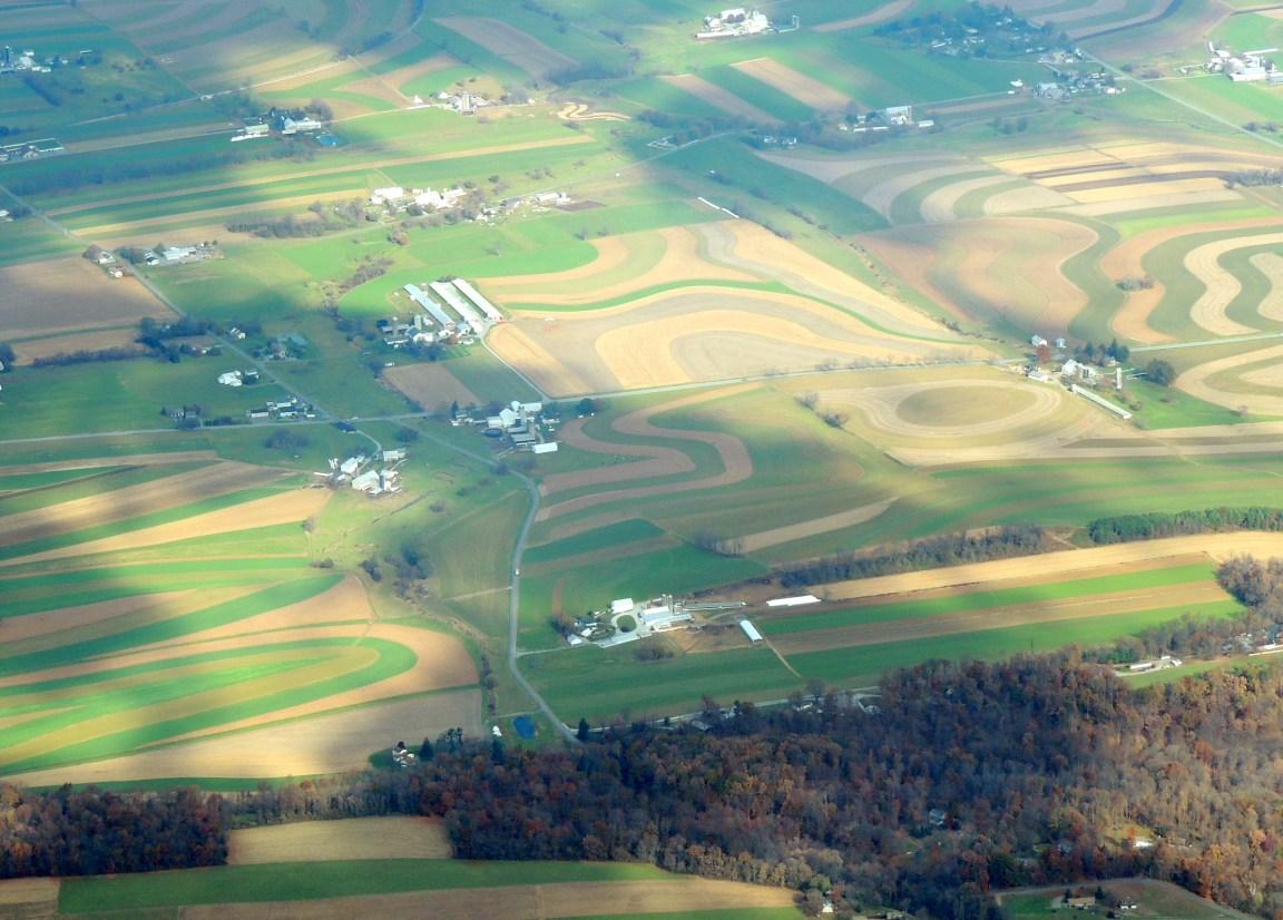 Beautiful Pennsylvania Farm Fields