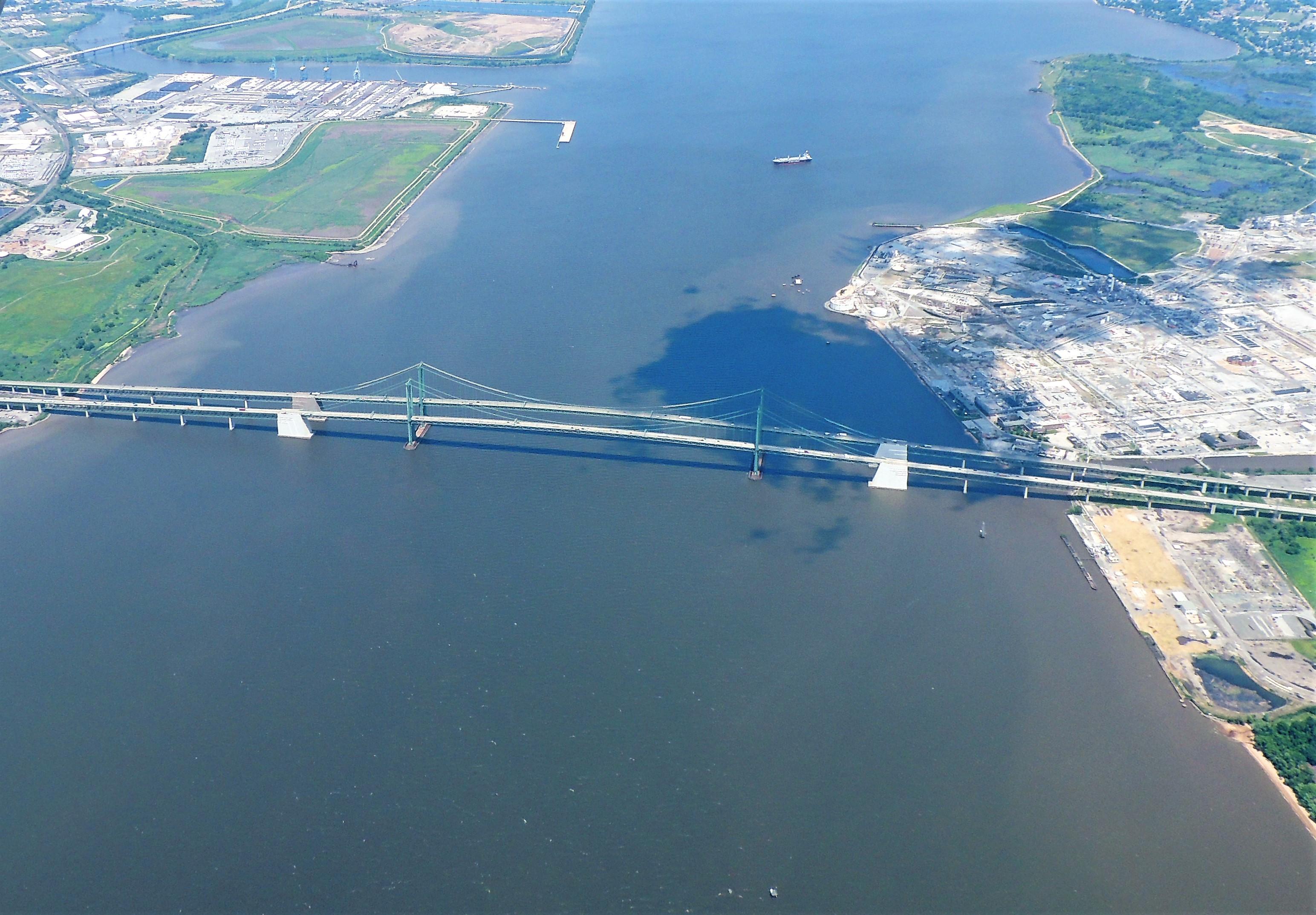 Bridge across the Delaware River