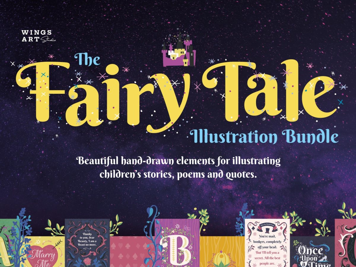 Fairy Tale Illustrations and Templates by Christopher King